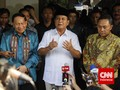 Prabowo: Kader Gerindra Jangan Kompak Berbuat Tidak Benar