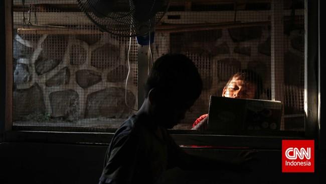 Pemerintah Mantan Presiden Susilo Bambang Yudhoyono mentargetkan penurunan angka kemiskinan 8-10 persen sejalan dengan asumsi laju pertumbuhan ekonomi. (CNN Indonesia/Adhi Wicaksono)