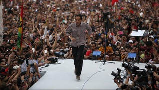 Relawan Dua Jari Ultimatum Jokowi: Batalkan Budi Gunawan