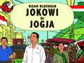Animasi Jokowi Diputar di Syukuran Rakyat