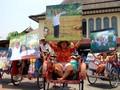 Becak Pernikahan Gibran Jokowi Mulai Dibersihkan dan Dihias
