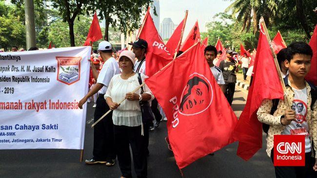 Projo Bubar Usai Jokowi Umumkan Prabowo Jadi Menteri