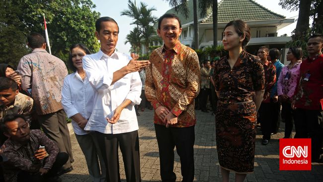 Kedekatan Ahok-Jokowi dan Batu Sandungan Dukungan di Pilpres