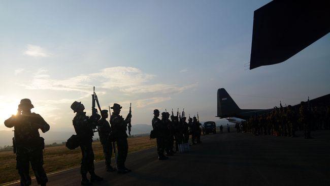 Militer PNG Tangkap 7 Orang Anggota Kelompok Penyandera WNI