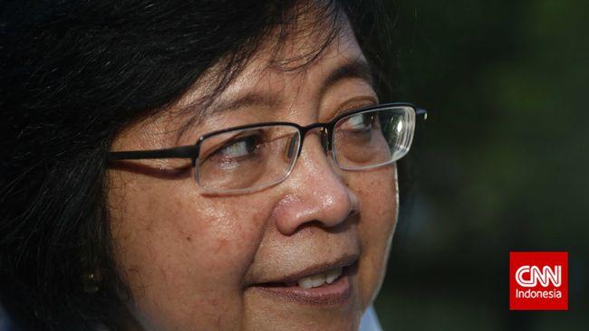Menteri Siti Nurbaya Segel Apartemen dan Vila di Bandung