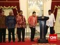 Bahas RUU KPK, Pimpinan DPR Datangi Jokowi di Istana