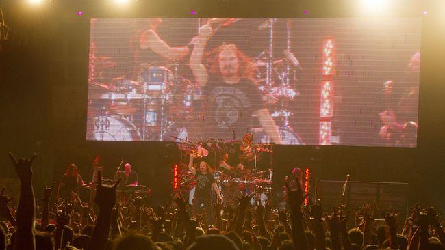 Dream Theater Sukses 'Menggempur' Jakarta