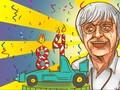 Merayakan Ulang Tahun Bernie Ecclestone