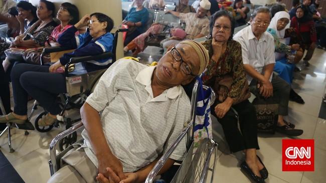 Konsep dasar jaminan kesehatan nasional (JKN) adalah pemenuhan hak rakyat, bukan penjualan asuransi kepada rakyat. (CNN Indonesia/Safir Makki)