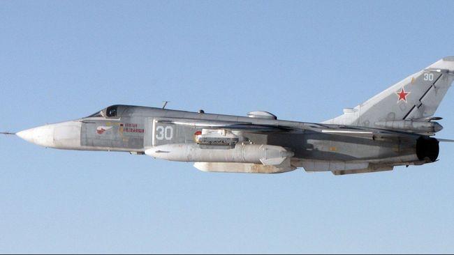 Rusia Kirim 28 Pesawat Tempur ke Suriah