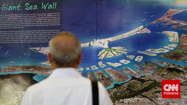 Menko Sofyan: Proyek Reklamasi Giant Sea Wall Ahok Percuma