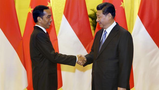 Jokowi Kuatkan Kerjasama Ekonomi Indonesia-Tiongkok