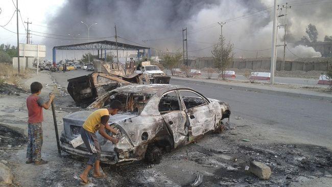 Kesaksian Horor Pembantaian Warga Desa di Irak