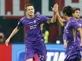 Babak Pertama: Fiorentina Vs Milan Masih Imbang