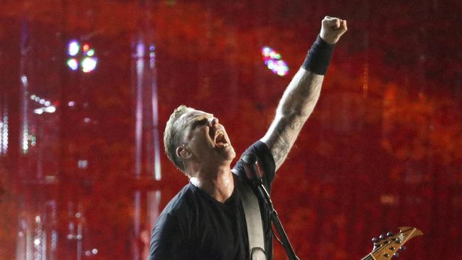 Metallica Meriahkan Setengah Abad Quebec City Festival
