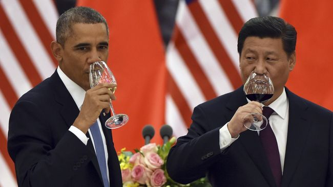 AS Berencana Jatuhkan Lebih Banyak Sanksi kepada China