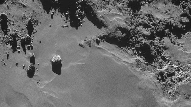 Pendaratan di Komet Rekam Suara Misterius