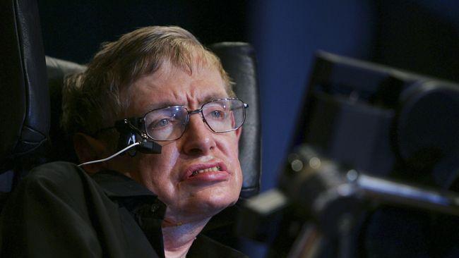 Kecerdasan Buatan Bantu Stephen Hawking Bicara