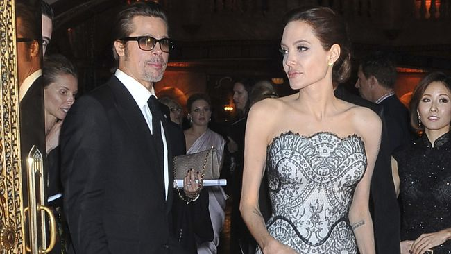Pernikahan Brad Pitt-Angelina Jolie Kandas