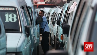 Demo Anti Ahok, 'Setoran' Angkot Berpotensi Amblas 60 Persen
