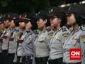 Polwan Jaga Demo Agar Terkesan Polisi Tidak Anti-mahasiswa