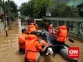 TNI Kerahkan Ribuan Personel Atasi Banjir Jakarta