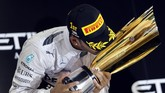 Gelar juara dunia ini adalah gelar kedua untuknya.