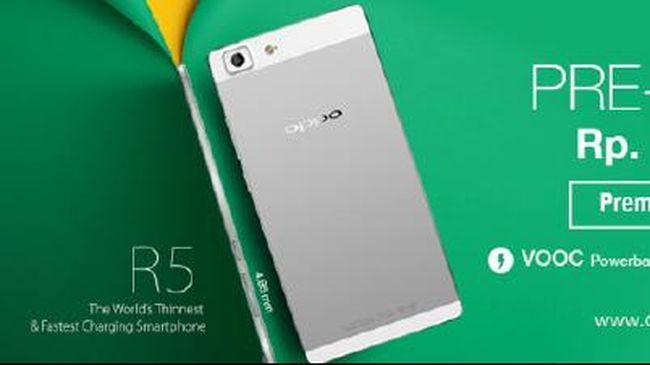 Jadilah Pemilik Pertama OPPO R5 di Indonesia