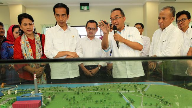 Jokowi Bantah Bongkar Proyek Listrik Mangkrak Era SBY
