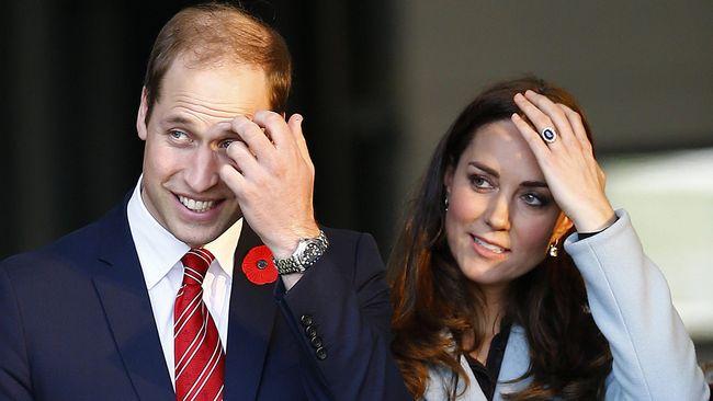 William dan Kate Lebih Memilih Ganti Popok Anak