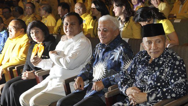 Dalam Pidato, Prabowo Sebut Pernah Buru Aktivis