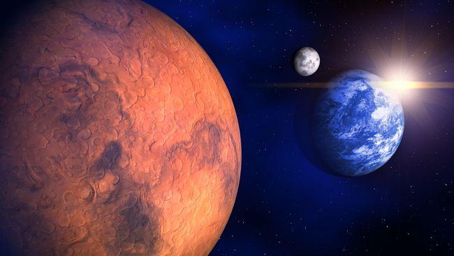 NASA: Tak Ada yang Bisa ke Mars Tanpa Kami