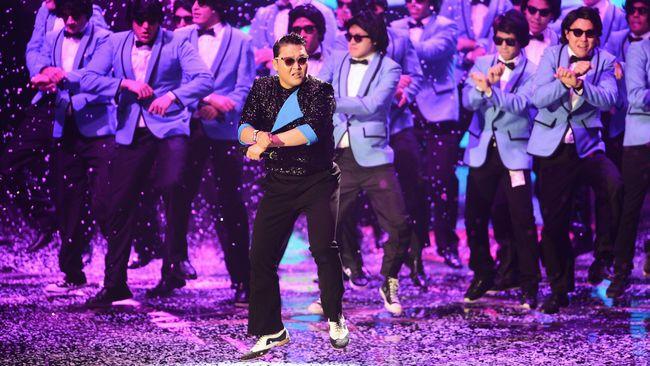 Patung 'Gangnam Style' akan Dipajang di Mal Korsel