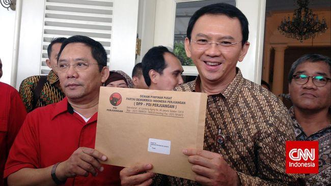 Ahok Incar Djarot Jadi Wakil Sebelum Jokowi Dilantik