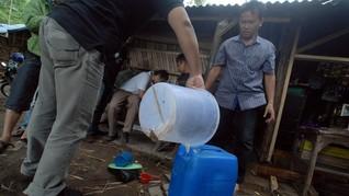 Miras Oplosan di Sleman Diduga Diracik Pakai Obat Nyamuk Cair