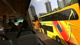 Jakarta Dapat Tambahan Satu Bus Tingkat Wisata