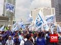 Kaum Buruh Serikat Pekerja Nasional Ajukan Lima Tuntutan
