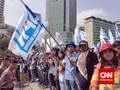 Kepung Jakarta, Ribuan Buruh dari Daerah Mulai Bergerak