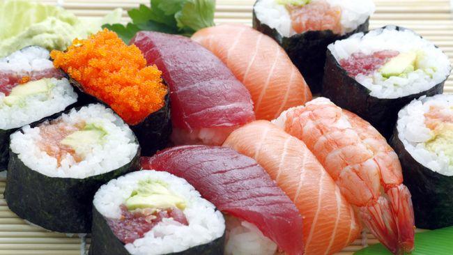 Image result for Tren Diet Makan Sushi Tanpa Nasi