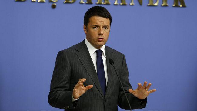 PM Italia Resmi Mengundurkan Diri