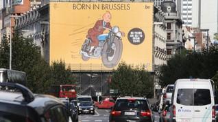 Menelusuri Jejak Petualangan Tintin di Brussels