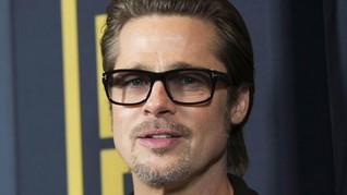 Wajahnya Memar, Ada Apa dengan Brad Pitt?