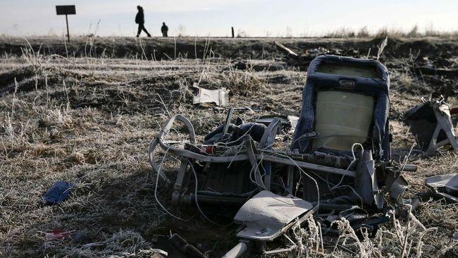Polisi Belanda Ditahan karena Jual Pecahan Pesawat MH17