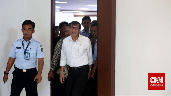 Menteri Hukum Pertanyakan Surat KPK terkait Remisi Koruptor