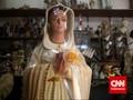 Di Semarang, Patung Bunda Maria Tertinggi se Asia Tenggara