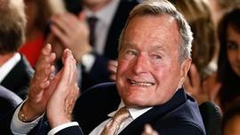 Membaik, George HW Bush Keluar dari Ruang Gawat Darurat