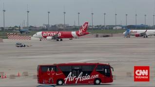 Pesawat AirAsia Mendarat Darurat di Australia