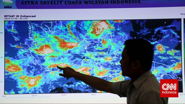 BMKG: Puncak Musim Hujan di Jabodetabek Desember-Februari