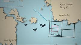 Prioritas Area Pencarian Korban dan Badan AirAsia QZ8501