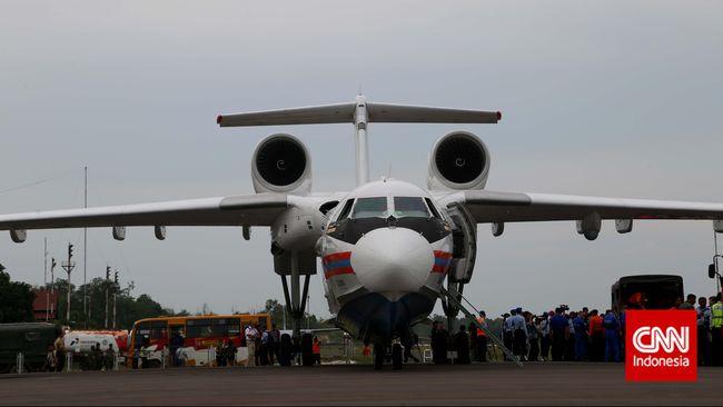 TNI Incar Empat Pesawat Pemadam Beriev Be-200 Buatan Rusia